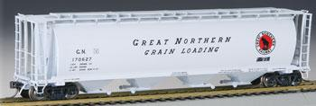 Bachmann Grain Hopper Great Northern #170627 -- HO Scale Model Train Freight Car -- #19111