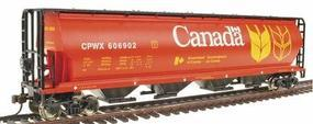 Bachmann Grain Hopper Canada Grain HO Scale Model Train Freight Car #19131