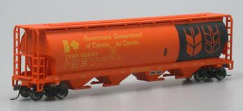 Bachmann Canadian Hopper Canadian -- HO Scale Model Train Freight Car -- #19134