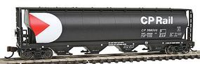 Bachmann 4-Bay Grain Hopper CP Rail N Scale Model Train Freight Car #19177