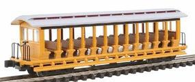 Bachmann Jackson Sharp Excursion Painted Yellow/Silver N Scale Model Train Freight Car #19398