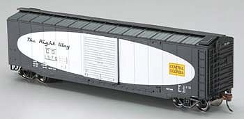 Bachmann 50 Sliding Door Boxcar Central of Georgia HO Scale Model Train Freight Car #19401