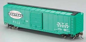 Bachmann 50 Sliding Door Box New York Central HO Scale Model Train Freight Car #19402