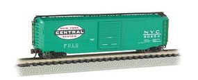 Bachmann 50 Sliding Door Boxcar New York Central N Scale Model Train Freight Car #19452
