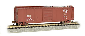 Bachmann 50 Sliding Door Boxcar PRR N Scale Model Train Freight Car #19459