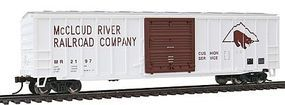 Bachmann ACF 506 Sliding-Door Boxcar McCloud River RR Co HO Scale Model Train Freight Car #19602