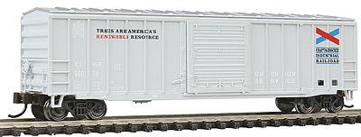 ACF 50-6 Outside BRACED Sliding Door Box CAR Bachmann Trains N Scale Canadian National