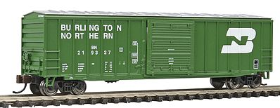 Bachmann ACF 50'6 Sliding Door Box Burlington Northern -- N Scale Model Train Freight Car -- #19656