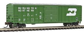 Bachmann ACF 50'6 Sliding Door Box Burlington Northern N Scale Model Train Freight Car #19656