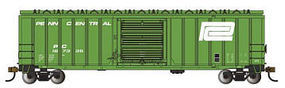 Bachmann 50 6 OB Boxcar Penn Central green N Scale Model Train Freight Car #19662