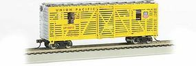 Animated Stockcar Union Pacific HO Scale Model Train Freight Car #19701