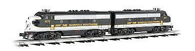 Bachmann EMD F3 A-A Set - Conventional 3-Rail NS -- O Scale Model Train Diesel Locomotive -- #20105