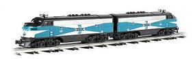 Bachmann F3 A-A Set Boston & Maine O Scale Model Train Diesel Locomotive #20107