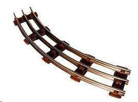 Bachmann Golden Memories(R) O-27 Track Pack - Curved pkg(8) O Scale Model Train Track #201