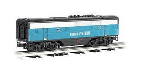 Bachmann F3 Dummy Boston & Maine O Scale Model Train Diesel Locomotive #20207