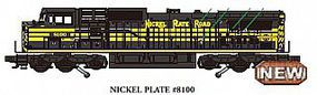 Bachmann GE DASH 9 Nickel Plate Road #8100 with sound O Scale Model Train Diesel Locomotive #20434