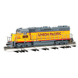 Bachmann GP-38 Union Pacific #2019 -- O Scale Model Train Diesel Locomotive -- #21222