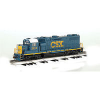 Bachmann GP-38 CSX (Dark Future) #2814 O Scale Model Train Diesel Locomotive #21223