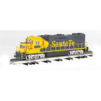 Bachmann GP-38 Santa Fe #2372 O Scale Model Train Diesel Locomotive #21225