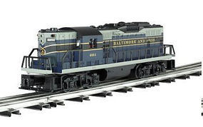 Bachmann EMD GP9 - Conventional 3-Rail Baltimore & Ohio O Scale Model Train Diesel Locomotive #21502
