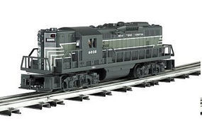 Bachmann EMD GP9 - Conventional 3-Rail New York Central O Scale Model Train Diesel Locomotive #21513