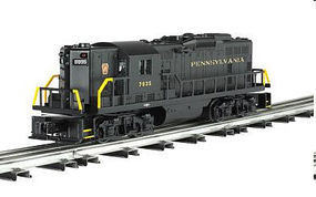 Bachmann EMD GP9 Conventional 3-Rail Pennsylvania (black) O Scale Model Train Diesel Locomotive #21551