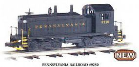 Bachmann NW-2 Diesel Pennsylvania #9250 with sound O Scale Model Train Diesel Locomotive #21651