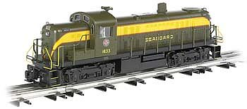 Bachmann RS-3 Seaboard -- O Scale Model Train Diesel Locomotive -- #23004