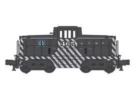 Bachmann WM GE 44 Ton Center Cab Santa Fe #463 O Scale Model Train Diesel Locomotive #23102