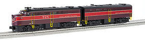 Bachmann WM FA1 Gulf Mobile & Ohio #728(A) #B4(B) O Scale Model Train Diesel Locomotive #23203