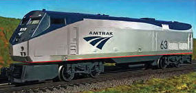 Bachmann Amtrak Genesis Phase V #63 O Scale Model Train Diesel Locomotive #23301