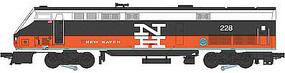 Bachmann Genesis New Haven #228 O Scale Model Train Diesel Locomotive #23303