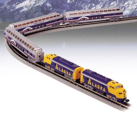 Train set n gauge