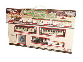 Bachmann N Rockwell Am Xmas Set - On30-Scale