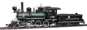 Bachmann Spectrum 2-6-0 D&RGW #136 On30 Scale Model Train Steam Locomotive #25242