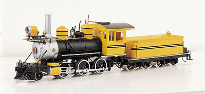 Bachmann 2-6-0 Mogul Painted, Unlettered -- On30 Scale Model Train Steam Locomotive -- #25249