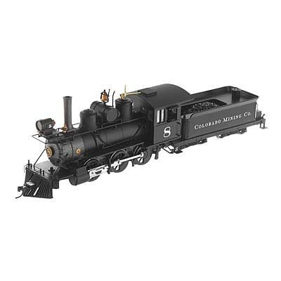 Bachmann Spec 2-6-0 Colorado Mining Co. #8 -- O Scale Model Train Steam Locomotive -- #25262