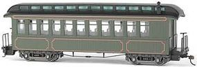 Bachmann Spec Conv Coach/OBS Car Painted Olive ON30 O Scale Model Train Passenger Car #26202