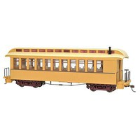 Bachmann Coach/Obs Lghtd buff/tan - On30-Scale
