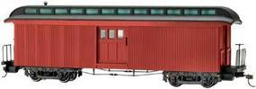 Bachmann Two-Door Baggage Car Painted, Unlettered On30 Scale Model Train Passenger Car #26498
