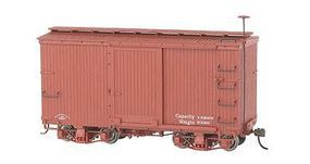Bachmann 18 Freight Painted/Unlettered Boxcar O Scale Model Train Freight Car #26501