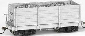 Bachmann 18 Freight Painted/Unlettered Hi-Side Gondola O Scale Model Train Freight Car #26541