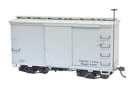 Bachmann 18' Boxcar Data gray 2/ On30-Scale