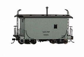 Bachmann Logging Cab MOW Gray - On30-Scale