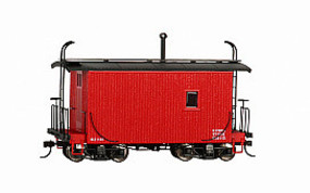 Bachmann Logging Cab red - On30-Scale