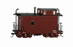Bachmann On30 18' Offset Cupola Caboose, Red/Data Only