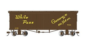 Bachmann Box Car White Pass & Yukon - On30-Scale