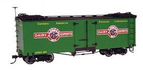Bachmann Wood Reefer A.C. Dole & Son Dairy (Billboard Scheme) O Scale Model Train Freight Car #27402