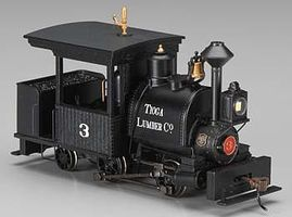 Bachmann Porter 0-4-2 w/Sound & DCC Tioga Lumber Co. #3 On30 Scale Model Trian Steam Locomotive #28204