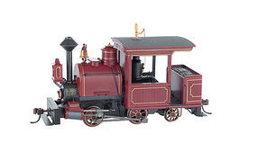 Bachmann Porter 0-4-2 w/DCC Painted, Unlettered (maroon) On30 Scale Model Train Steam Locomotive #28260